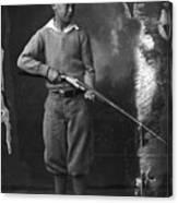 Knickerbockers And Shotgun Canvas Print