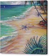 Knight Beach Canvas Print