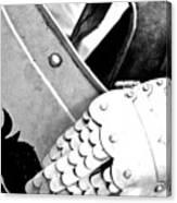 Knight's Hand Canvas Print