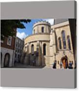 Knights Templar Church- London Canvas Print