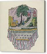 Knit Beaded Bag Canvas Print