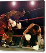 Knockdown Canvas Print