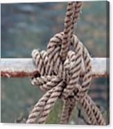 Knot Of My Warf Canvas Print