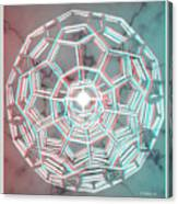 Knotplot 3 - Use Red-cyan 3d Glasses Canvas Print