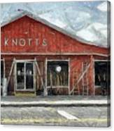 Knott's Hardware Canvas Print