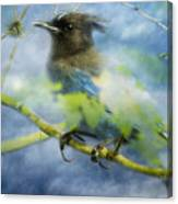 Knowing It Has Wings Canvas Print