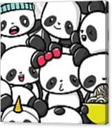 Koala Doodle Canvas Print