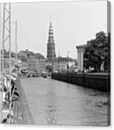Kobenhavn Kanal Canvas Print