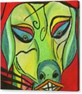 Kobi Canvas Print
