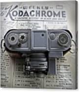 Kodachrome Weekly Canvas Print