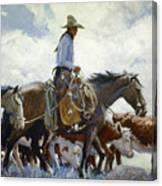 Koerner: Cowboy, 1920 Canvas Print