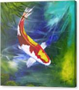 Kohaku Koi Canvas Print