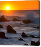 Kohala Sunset Canvas Print