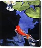 Koi Ballet Canvas Print