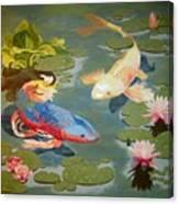 Koi II Canvas Print