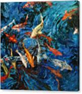 Koi IIi Canvas Print