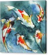 Koi Jewels Canvas Print