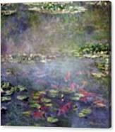 Koi N Pond Canvas Print