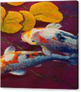 Koi Pond II Canvas Print