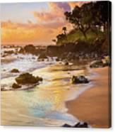 Koki Beach Sunrise Canvas Print