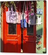 Kokina Red Door Canvas Print