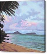 Koko Palms Canvas Print