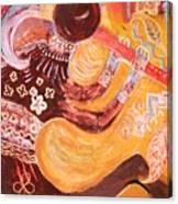 Kokopelli Jazz Canvas Print