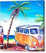 Kombi Club Canvas Print