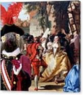 Komondor Art Canvas Print - The Carnival Dance Canvas Print