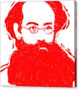 Komrade K Canvas Print