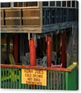 Kona Joes - Cedar Key Canvas Print