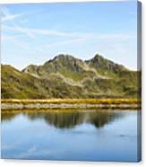 Konigsleiten Mountain Top. Tyrol, Austria Canvas Print