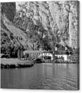 Konigssee Lake And Saint Bartoloma 2 Canvas Print