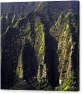 Koolau Range, Oahu Canvas Print