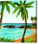 Koolina Lagoon Oahu, Hawaii #343 Canvas Print