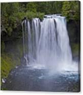 Koosah Falls Canvas Print