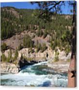 Kootenai Falls, Montana Canvas Print