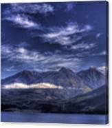 Kootenai Lake Bc Version 2 Canvas Print