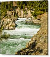 Kootenai River Canvas Print