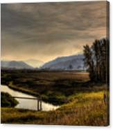 Kootenai Wildlife Refuge In Hdr Canvas Print