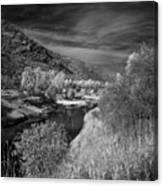 Kootenai Wildlife Refuge In Infrared 4 Canvas Print