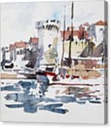 Korcula,croatia Canvas Print