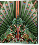 Korean Bell Of Friendship Detail San Pedro Canvas Print
