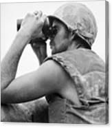 Korean War: Bunker Hill Canvas Print