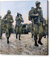 Korean War: Marines, 1953 Canvas Print