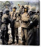 Korean War: Prisoners Canvas Print