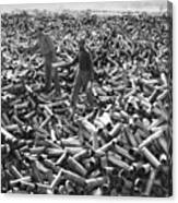 Korean War: Shell Casings Canvas Print