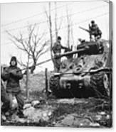 Korean War: Tank, 1951 Canvas Print
