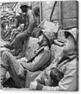 Korean War: U.n. Troops Canvas Print