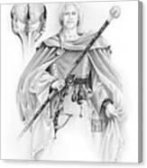 Korranderaythe Von Cristalvasser Canvas Print